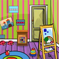 GenieFunGames Kids Room Escape